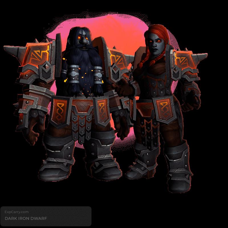 Dark Iron Dwarf unlock