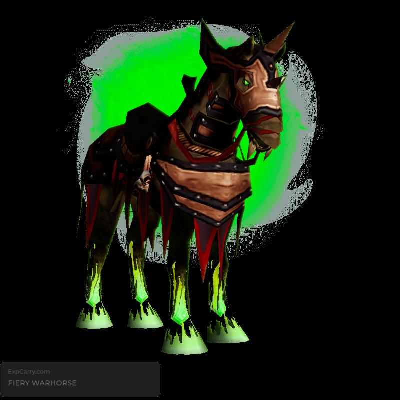 Fiery Warhorse