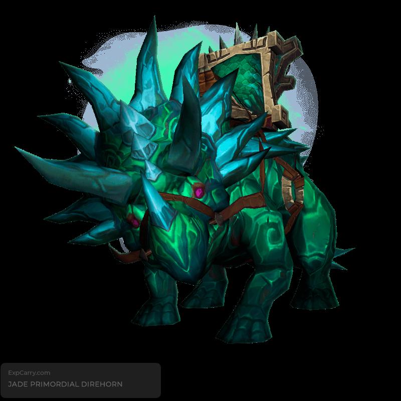 Jade Primordial Direhorn