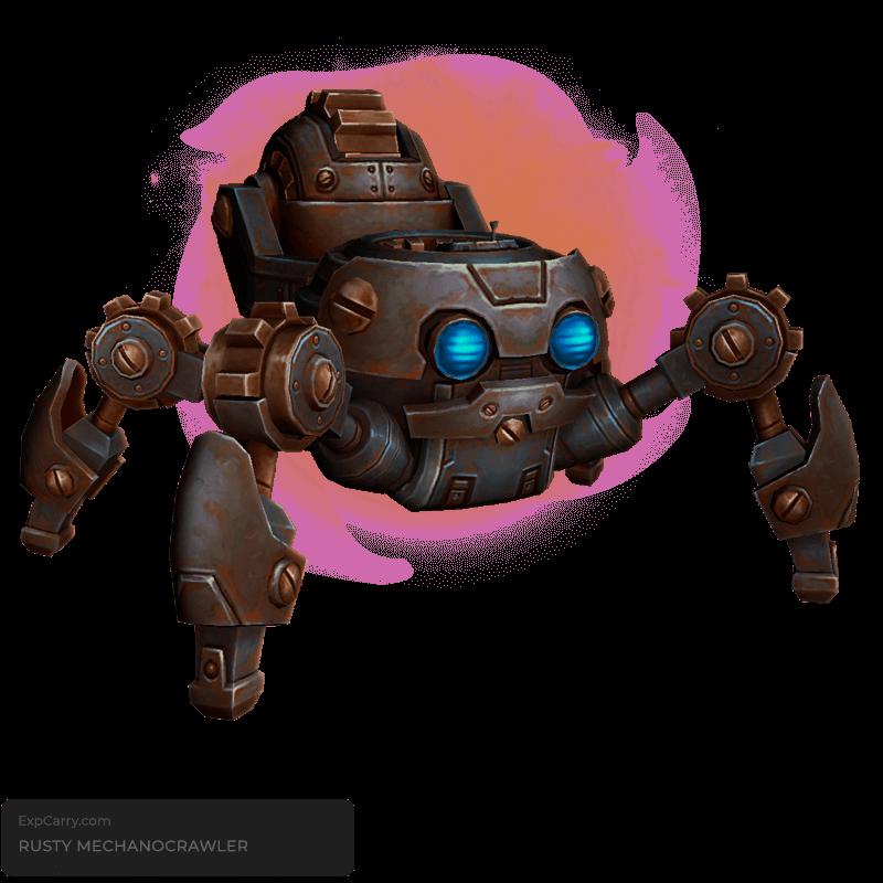 Rusty Mechanocrawler