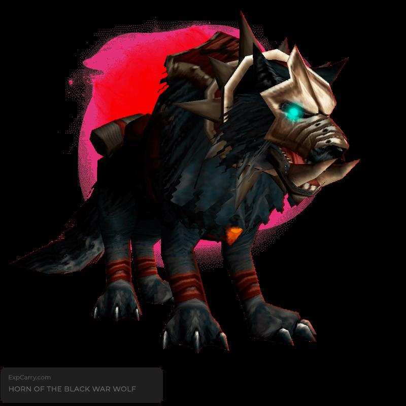 Horn of the Black War Wolf